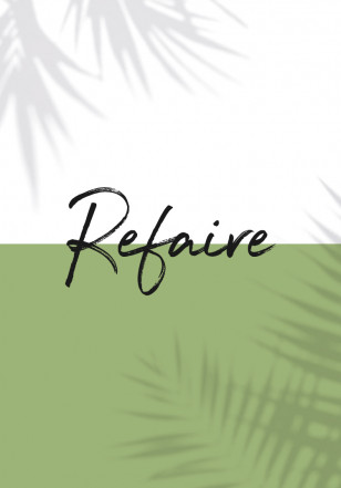 Refaire Logo and graphic example