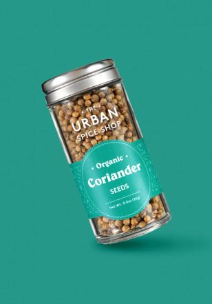 Urban Spice Shop spice jar packaging